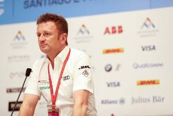 Conférence de presse avec Allan McNish, Team Principal, Audi Sport Abt Schaeffler