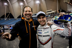 Fredrik Johnsson and Timo Bernhard of Team Germany