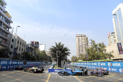 Andre Lotterer, Techeetah Sébastien Buemi, Renault e.Dams, Sam Bird, DS Virgin Racing