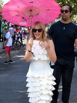 Kylie Minogue sur la grille