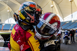 Helio Castroneves et Ryan Hunter-Reay