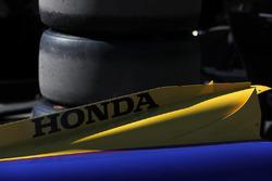 La carrosserie de la voiture de Marco Andretti, Herta - Andretti Autosport Honda