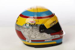 Шлем гонщика Harding Racing Chevrolet Габби Чавеса
