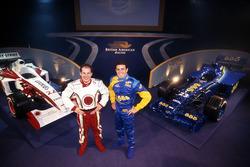 Jacques Villeneuve y Ricardo Zonta, British American Racing