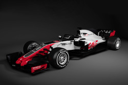 Haas F1 VF-18 lansmanı
