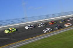 Ryan Blaney, Team Penske Ford Fusion, Brad Keselowski, Team Penske Ford Fusion