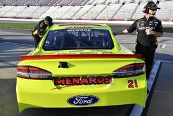 Paul Menard, Wood Brothers Racing Ford Fusion, mit Greg Erwin