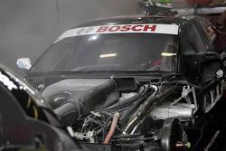 Fire Extinguisher starts in car of Timo Scheider, Audi Sport Team ABT Sportsline Audi A5 DTM