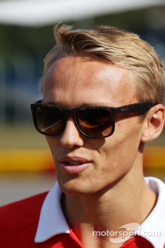 Max Chilton, Marussia F1 Team.
