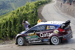 Mads Ostberg, Jonas Andersson, Ford Fiesta RS WRC Qatar M-Sport World Rally Team