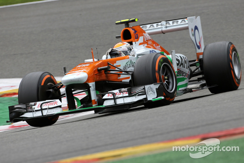 Adrian Sutil, Sahara Force India F1 Team