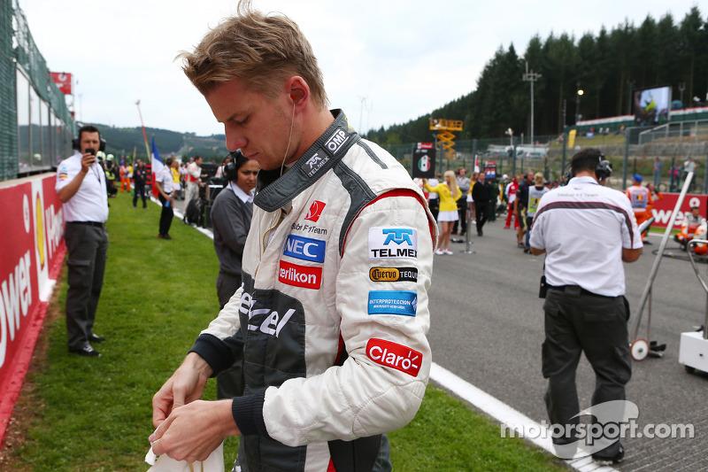 Nico Hulkenberg, Sauber on the grid