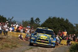 Per-Gunnar Andersson, Emil Axelsson, Ford Fiesta WRC #22
