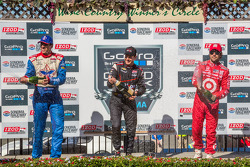 Podium: 1st Place Will Power; 2nd Place Justin Wilson; 3rd Place Dario Franchitti