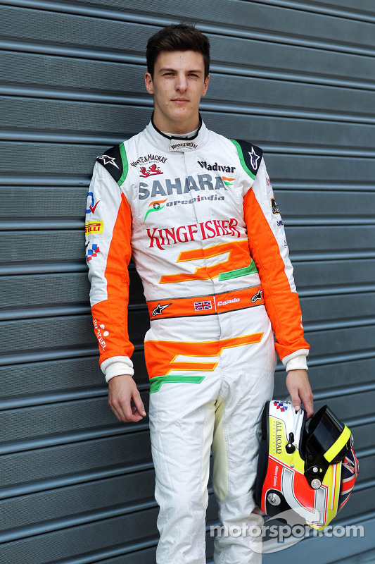 James Calado, Sahara Force India Terceiro piloto