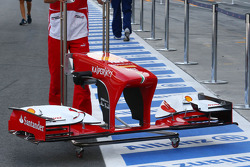 Ferrari F138 front wing
