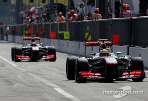Sergio Perez, McLaren Mercedes  07