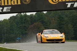 #18 The Auto Gallery Ferrari 458: James Weiland