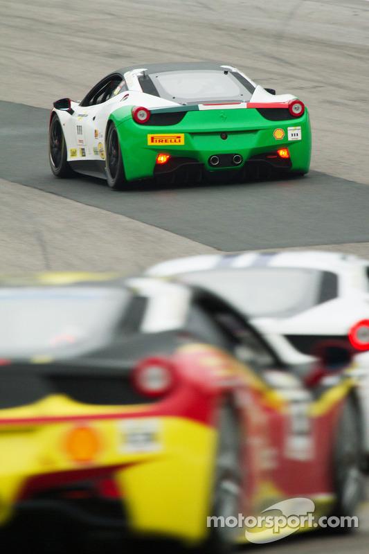#111 Ferrari of Houston Ferrari 458: Alfonso Celis