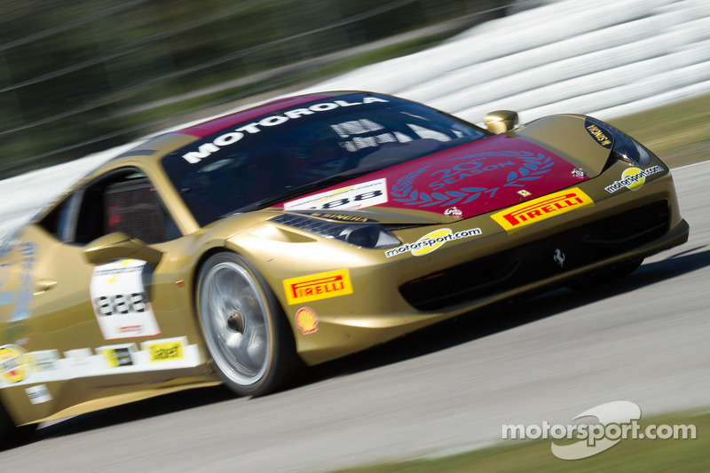 #888 Ferrari North America Ferrari 458: Mark Hacking