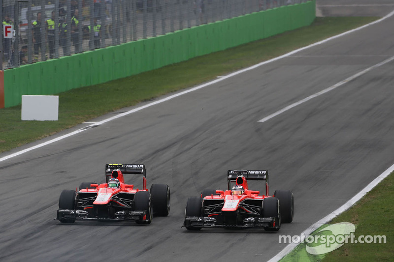 Jules Bianchi, Marussia Formula One Team  and Max Chilton, Marussia F1 Team