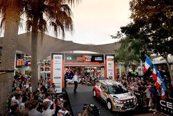 Khalid Al Qassimi and Scott Martin, Citroën Total Abu Dhabi World Rally Team
