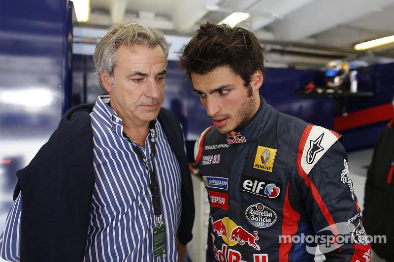 Carlos Sainz Jr. en vader Carlos Sainz