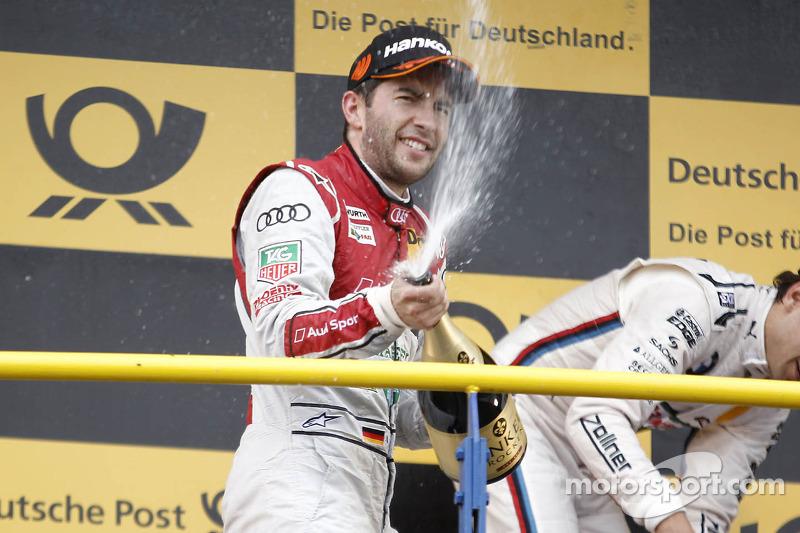 segundo colocado Mike Rockenfeller, Audi Sport Team Phoenix, Audi RS 5 DTM