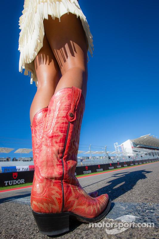 Botas de cowboy para meninas do grid