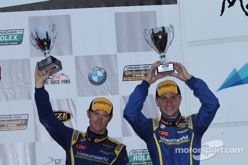 2e plaats- #81 BimmerWorld Racing BMW 328i: Tyler Cooke, Gregory Liefooghe