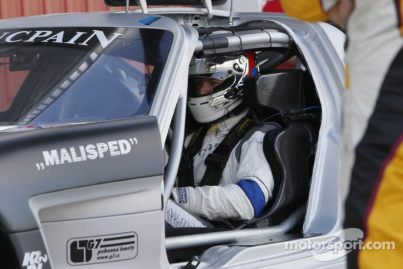 #1 HTP Gravity Charouz Mercedes SLS AMG GT3: Stef Dusseldorp, Alon Day