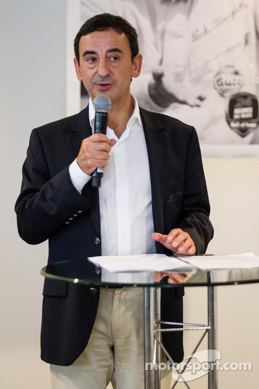 Pilotos americanos no evento Le Mans: Presidente François Fillon