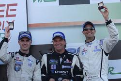 P2 third place Marino Franchitti, Stefan Johansson, Guy Cosmo