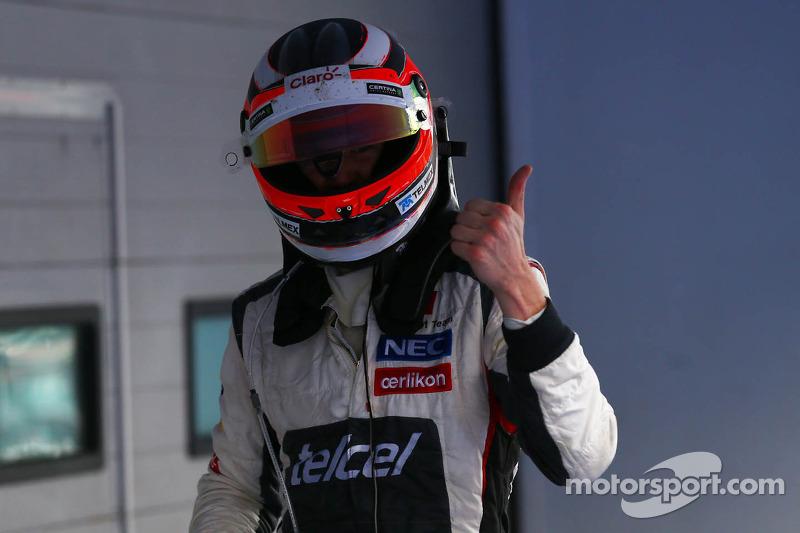 Vierde plaats Nico Hulkenberg, Sauber