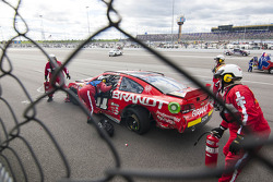 Trouble for Justin Allgaier, Chevrolet
