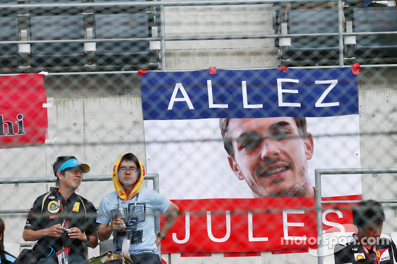 Banner voor Jules Bianchi, Marussia F1 Team