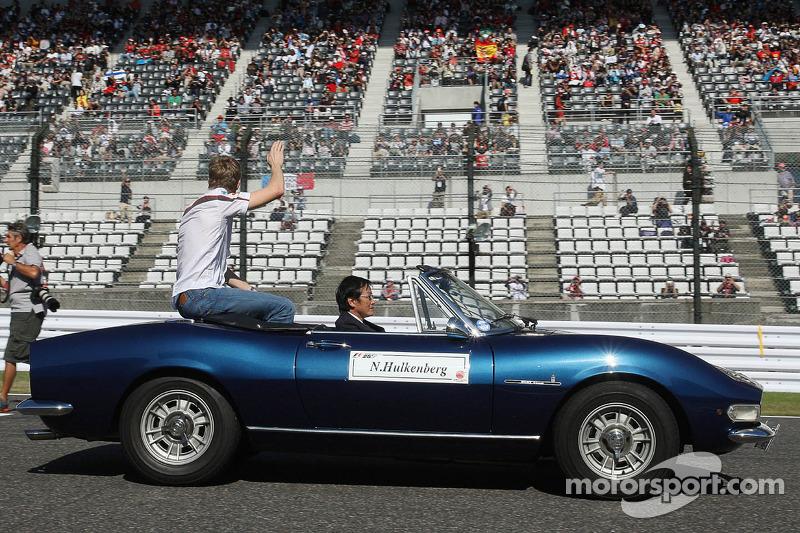 Nico Hulkenberg, Sauber no desfile de pilotos