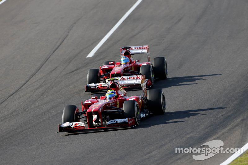 Felipe Massa, Scuderia Ferrari y Fernando Alonso, Scuderia Ferrari