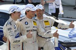 Dirk Werner, BMW Team Schnitzer, Bruno Spengler, BMW Team Schnitzer, Andy Priaulx, BMW Team RMG