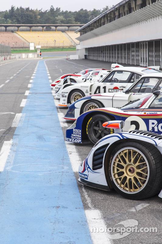 Le Mans vencendo Porsches