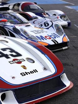 Porsches of Le Mans