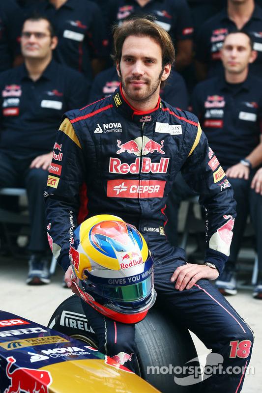 Jean-Eric Vergne, Toro Rosso sessão de fotos da equipe