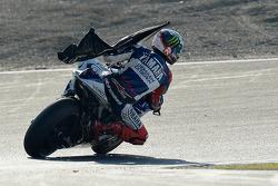 Race winner Jorge Lorenzo