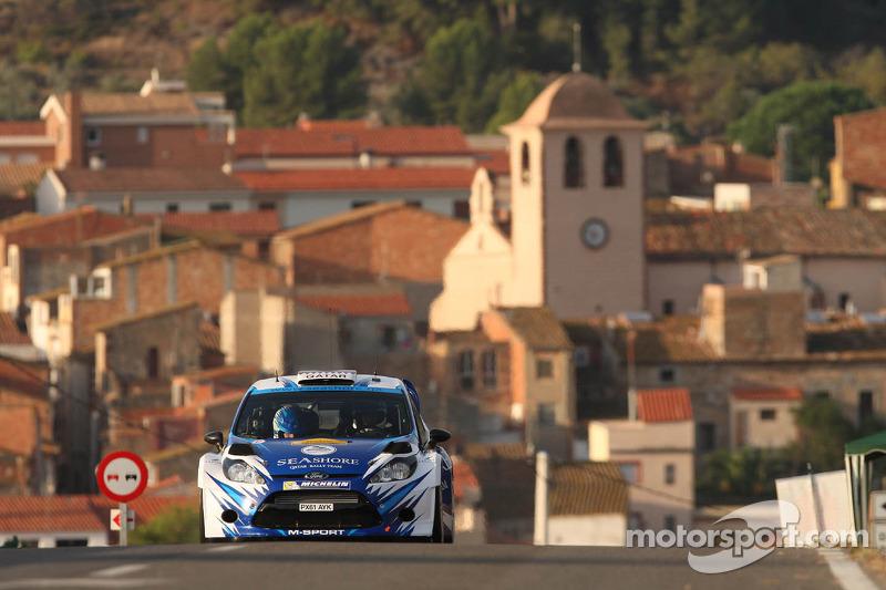 Abdulaziz Al Kuwari en Killian Duffy, Ford Fiesta RRC