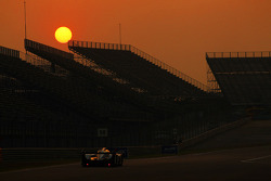 The sun sets on racing action