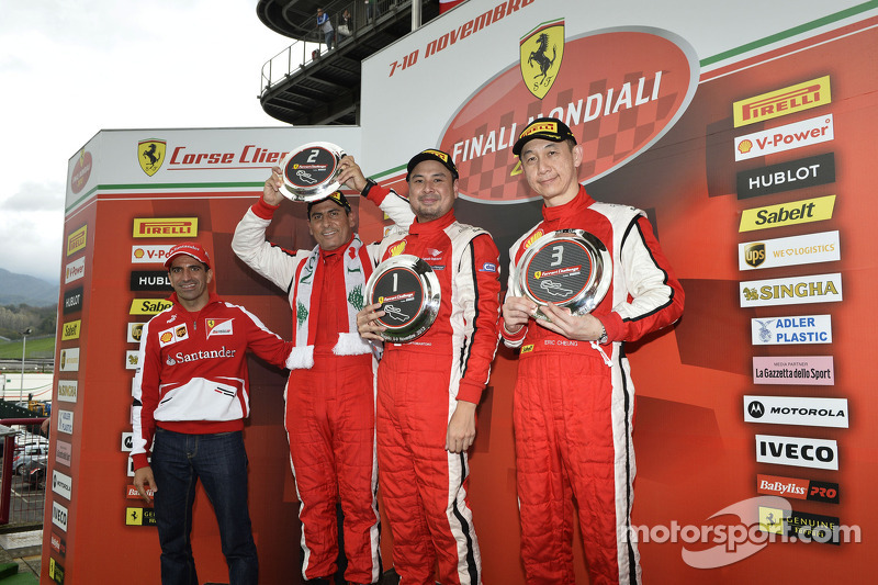 Asia-Pacific Coppa Shell podium race 2