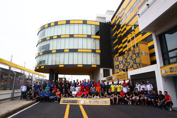 All Macau drivers in group shot