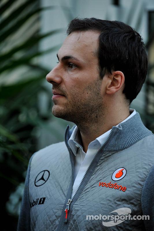 Gary Paffett, McLaren