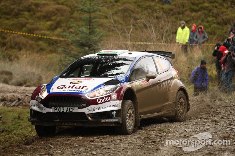 Elfyn Evans y Daniel Barrit, Ford Fiesta R5