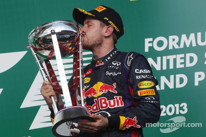 3º Sebastian Vettel: 107 podios